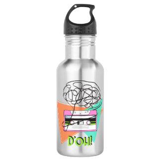 Arte colorida da fita do dó da garrafa de água de