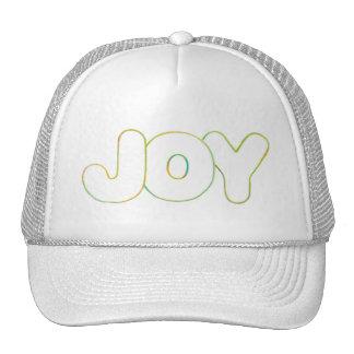 Arte colorida do esboço - alegria - exprima o boné