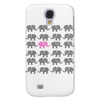 Arte cor-de-rosa e cinzenta do elefante