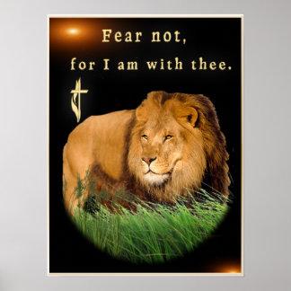 Arte cristã do poster da escritura