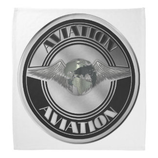 Arte da aviação do vintage bandanas