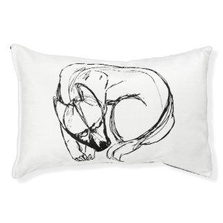 Arte da cama do cão de Diy