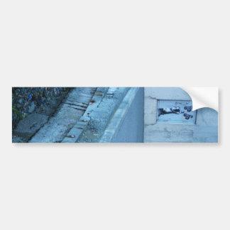 Arte da cidade adesivo para carro