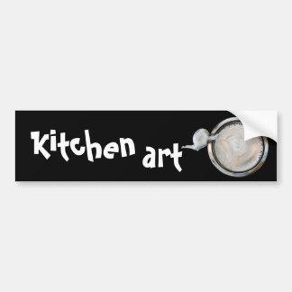 arte da cozinha adesivo