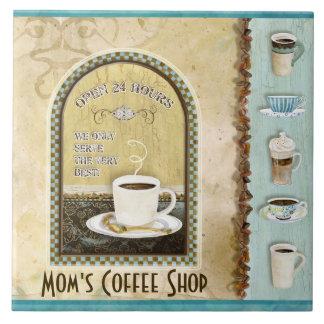 Arte da cozinha de Java Latte da cafetaria do café