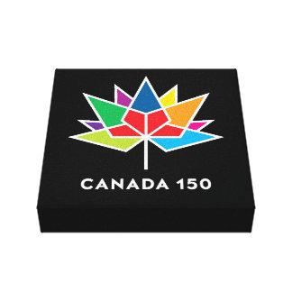 Arte da parede das canvas de Canadá 150th