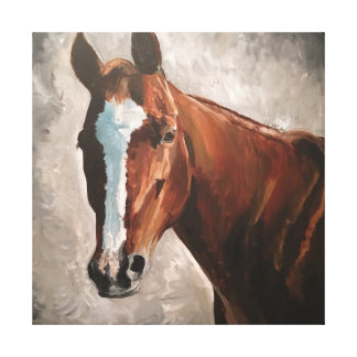 Arte da parede das canvas do cavalo da azeda do
