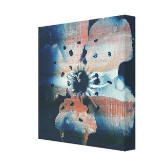 Arte da parede do impressão das canvas da flor