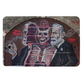 Arte da rua de Sigmund Freud Ímã