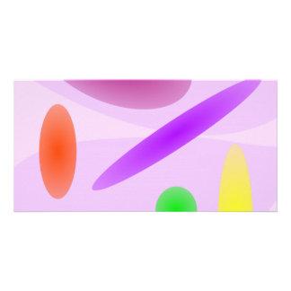 Arte da sala do jogo cartoes com foto