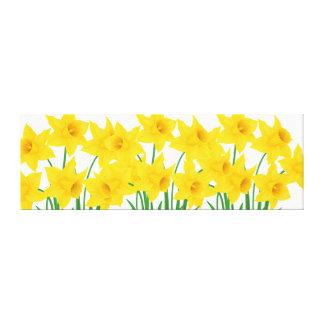 Arte-Daffodils da parede das canvas