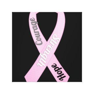 Arte das canvas da consciência do cancro da mama