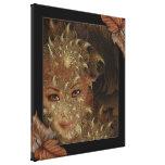 Arte das canvas da ninfa de madeira do outono impressão de canvas envolvida