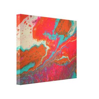Arte das canvas do abstrato do disjuntor do