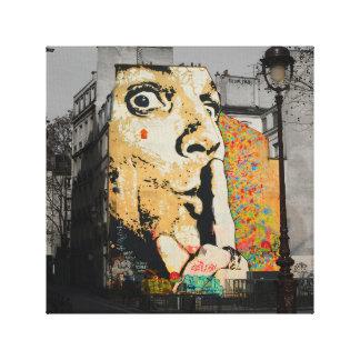 Arte das canvas dos grafites da arte da rua