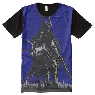 arte de 8 bits da fantasia do estilo de Nes do Camiseta Com Impressão Frontal Completa