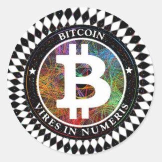 Arte de Cryptocurrency Digital da etiqueta de