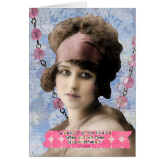 Arte de Digitas das citações da suposição das Cartão Comemorativo