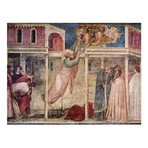 Arte de Giotto Cartão Postal
