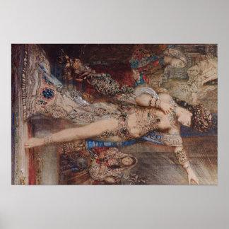 Arte de Gustave Moreau Poster