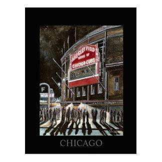 Arte de Randsom do cartão de Chicago