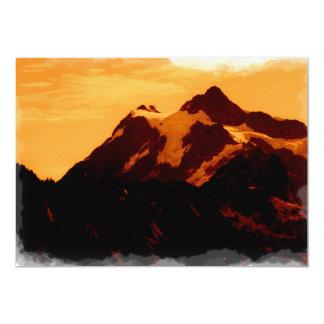 Arte de Shuksan Convite 12.7 X 17.78cm