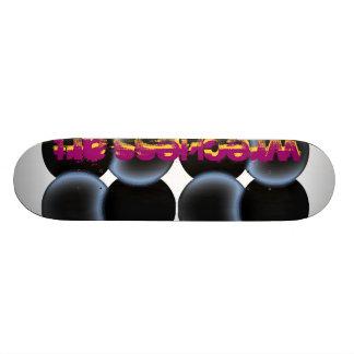 Arte de Wreckless - redonda Skate