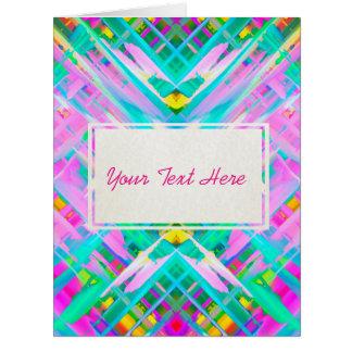 Arte digital colorida do cartão GRANDE que espirra