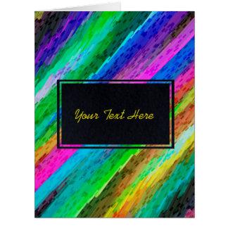 Arte digital colorida do cartão que espirra G478