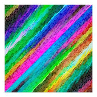 Arte digital colorida do impressão da foto que impressão de foto