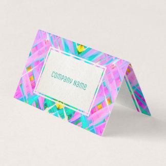 Arte digital colorida dobrada G473 do cartão de