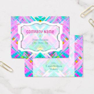 Arte digital colorida G473 do cartão de visita