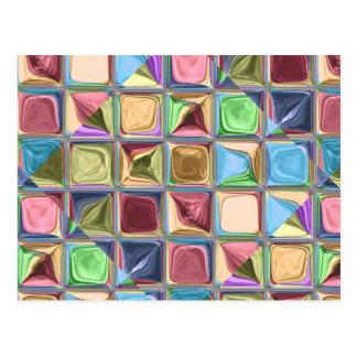 Arte do azulejo de mosaico de Candydrops dos Cartão Postal