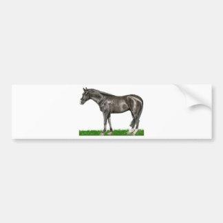 Arte do cavalo adesivo para carro