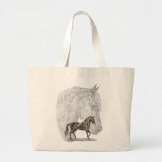 Arte do cavalo de Paso Fino Bolsa Para Compras