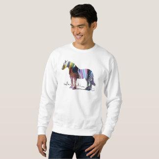 Arte do cavalo moletom