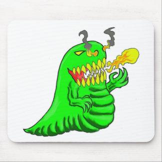 Arte do dragão do lagarto dos desenhos animados mouse pad
