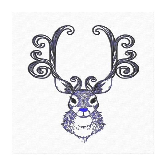 Arte do impressão dos cervos de Bluenoser N.S.