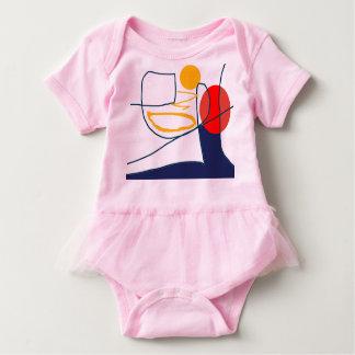 Arte do original da roupa da criança do Bodysuit Body Para Bebê