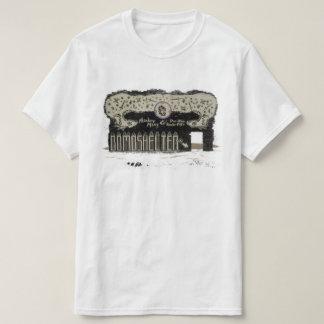 Arte do original do secundário do macaco do cobra camiseta