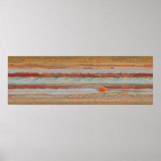Arte do poster da superfície | de Jupiter