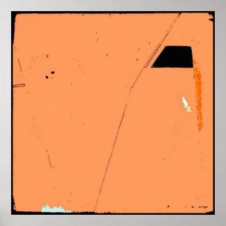 Arte do poster do Expressionism abstrato do Pôster