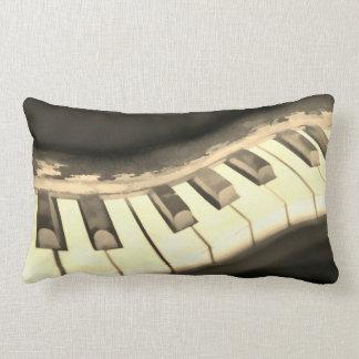 arte do teclado de piano do travesseiro dos almofada lombar