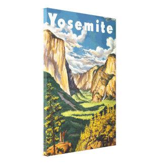 Arte do viagem de Yosemite (vetor)