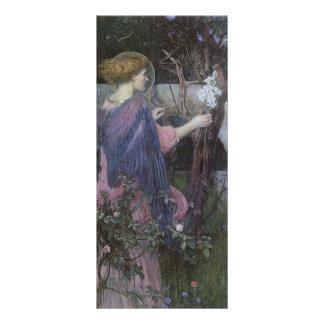 Arte do Victorian, aviso pelo Waterhouse de JW 10.16 X 22.86cm Panfleto