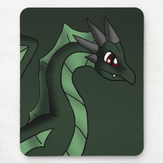 Arte dos desenhos animados da fantasia do dragão mouse pad