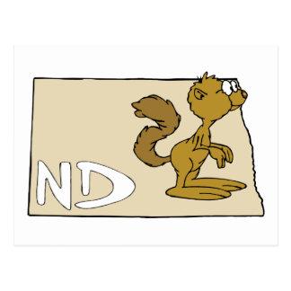 Arte dos desenhos animados do cão do mapa & de cartão postal