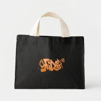 Arte dos grafites da aranha bolsas de lona