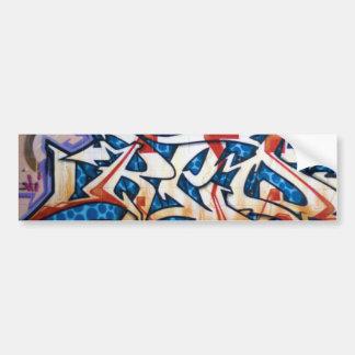 Arte dos grafites da rua adesivo para carro