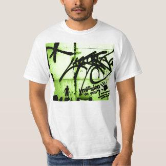 Arte dos grafites t-shirt